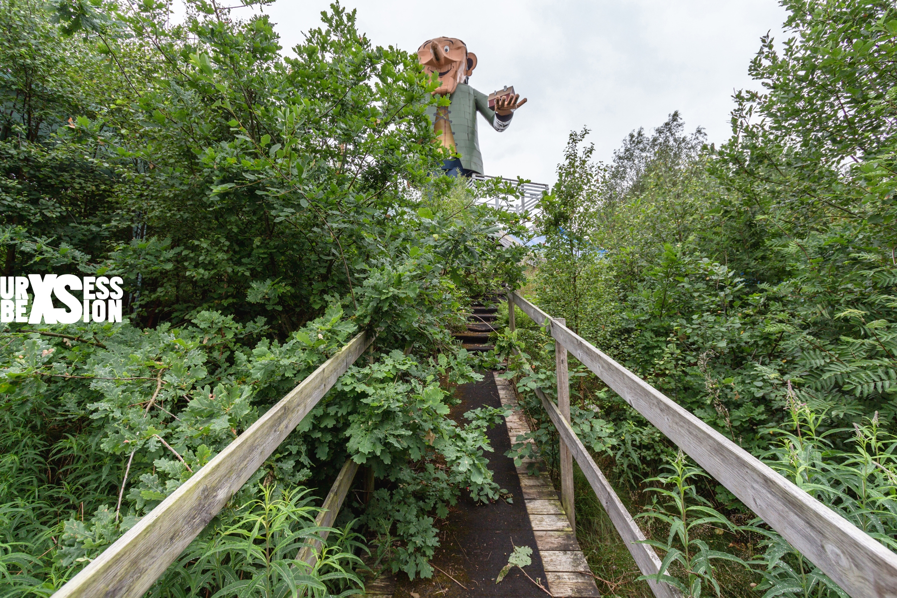 Parc d'attraction abandonné | urbexsession.com/big-world-land | Urbex Suède