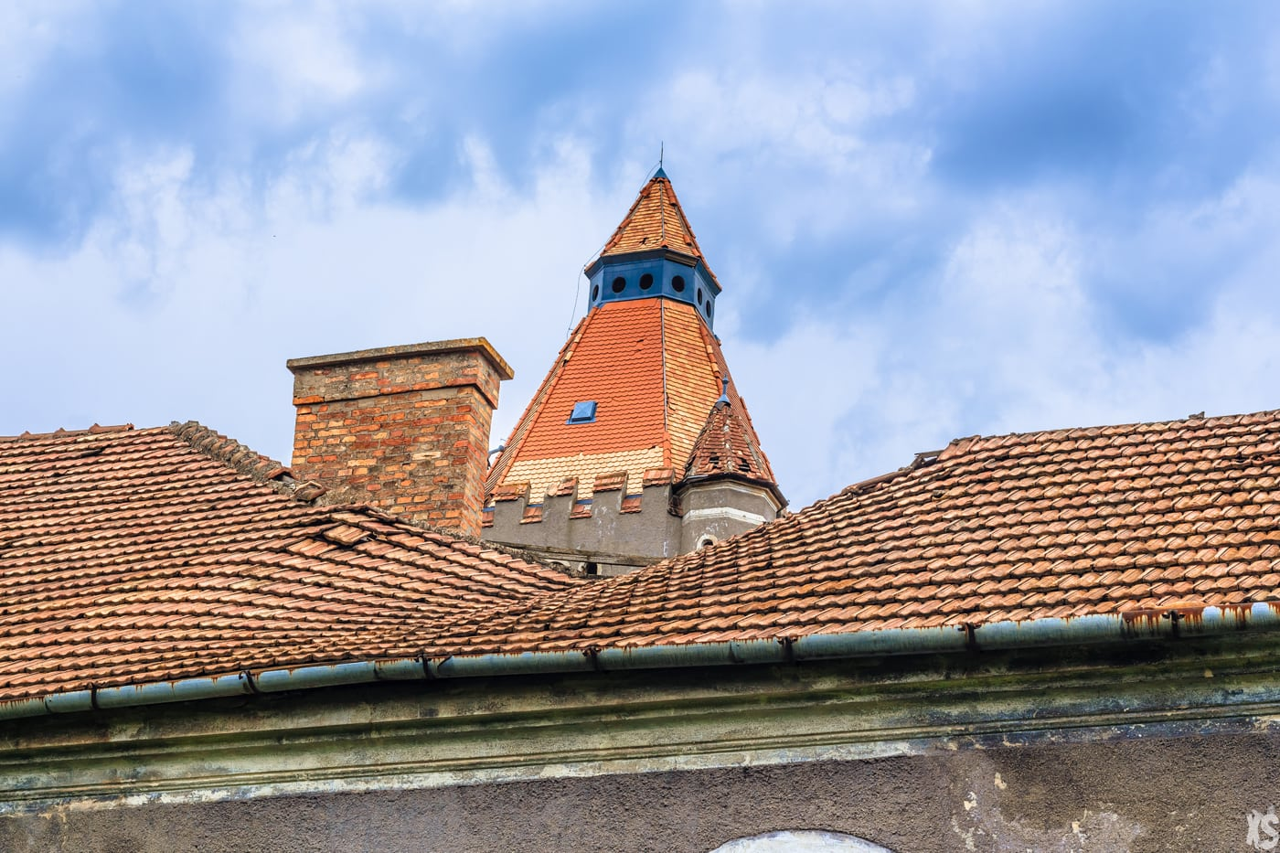 Château abandonné situé en Hongrie
