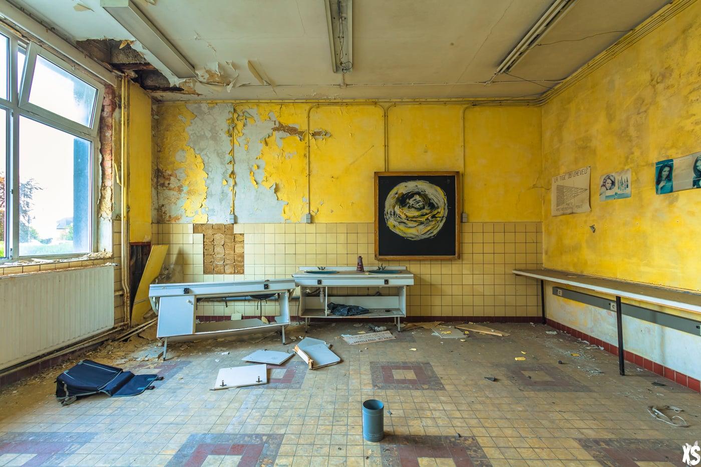 Ecole Remy Lecrenier - Urbex Belgique