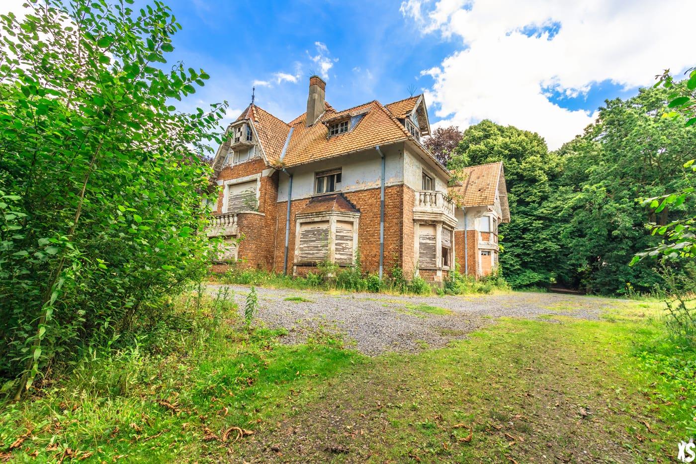 Villa abandonnée en Belgique - Urbex