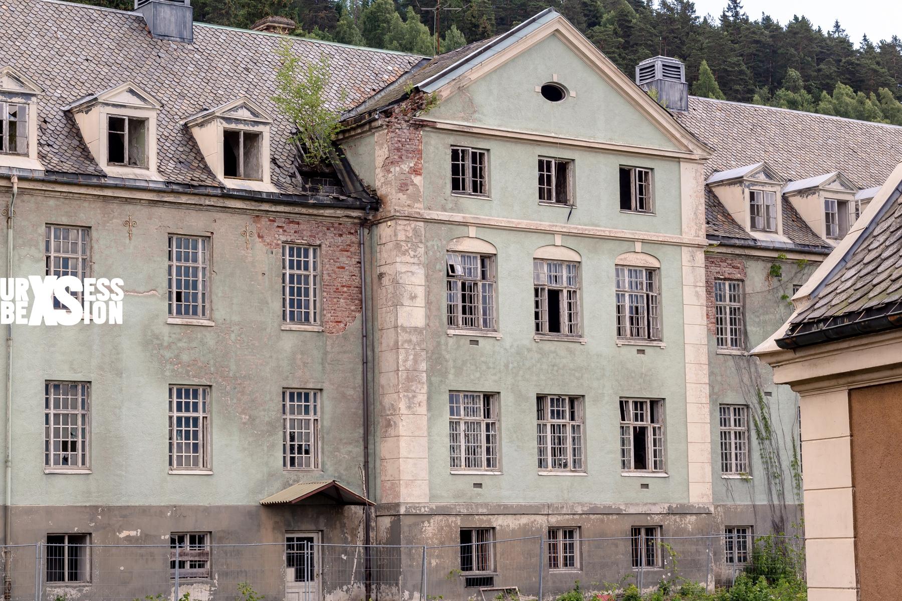 Asile abandonné situé en Norvège