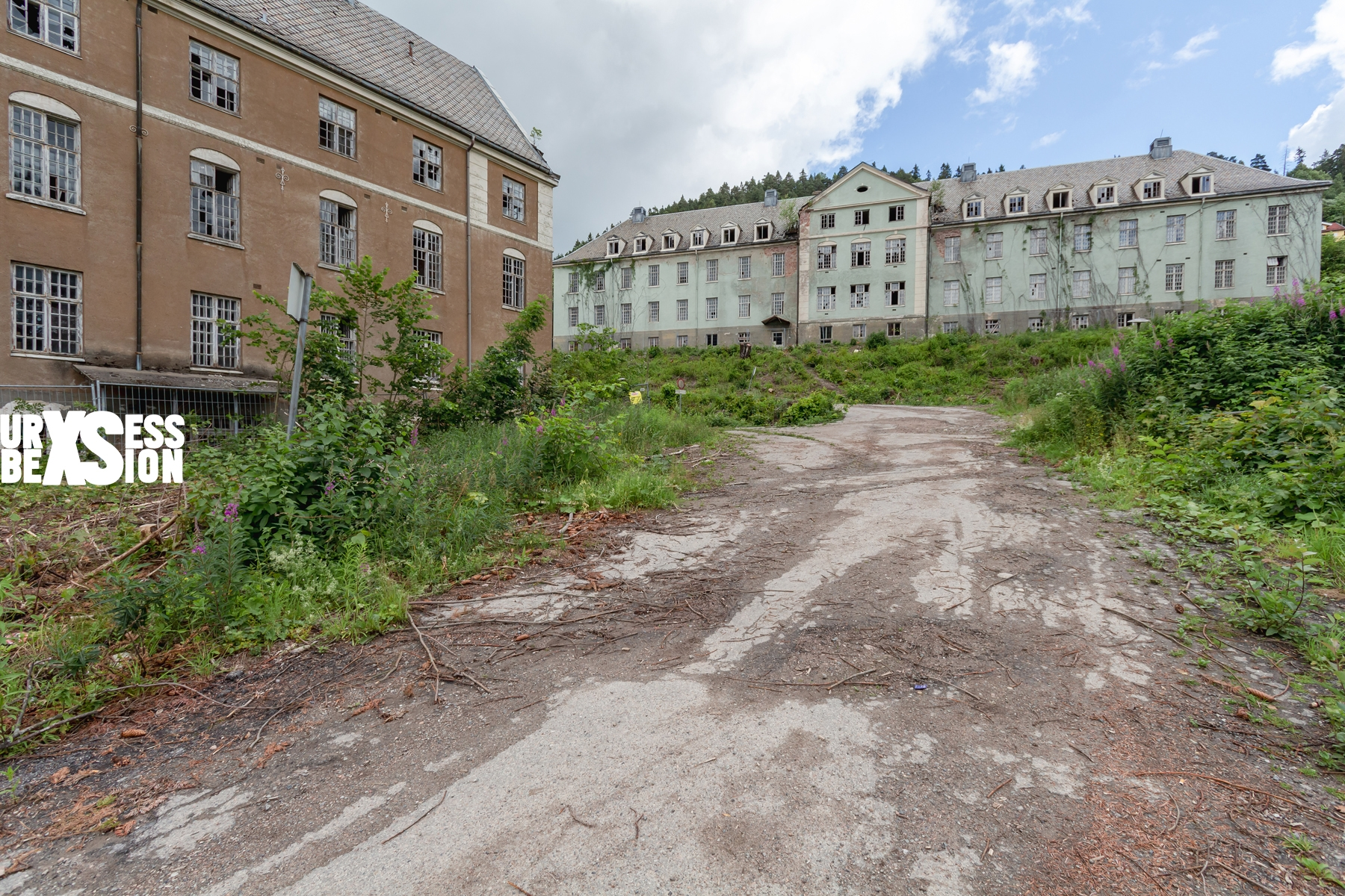 Asilo abandonado en Noruega