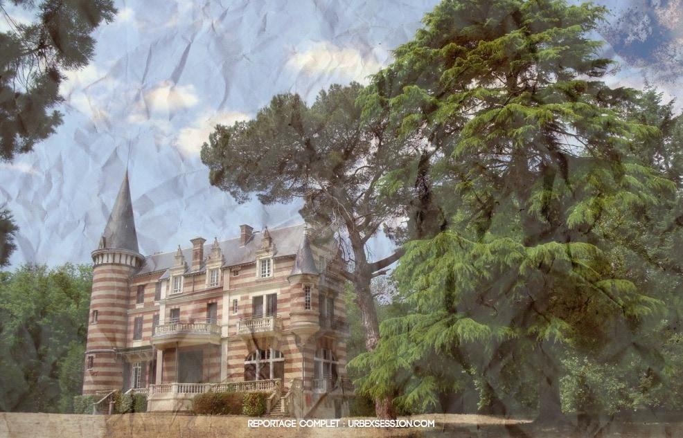 Château abandonné en France | urbexsession.com/chateau-eva-coo | Urbex France