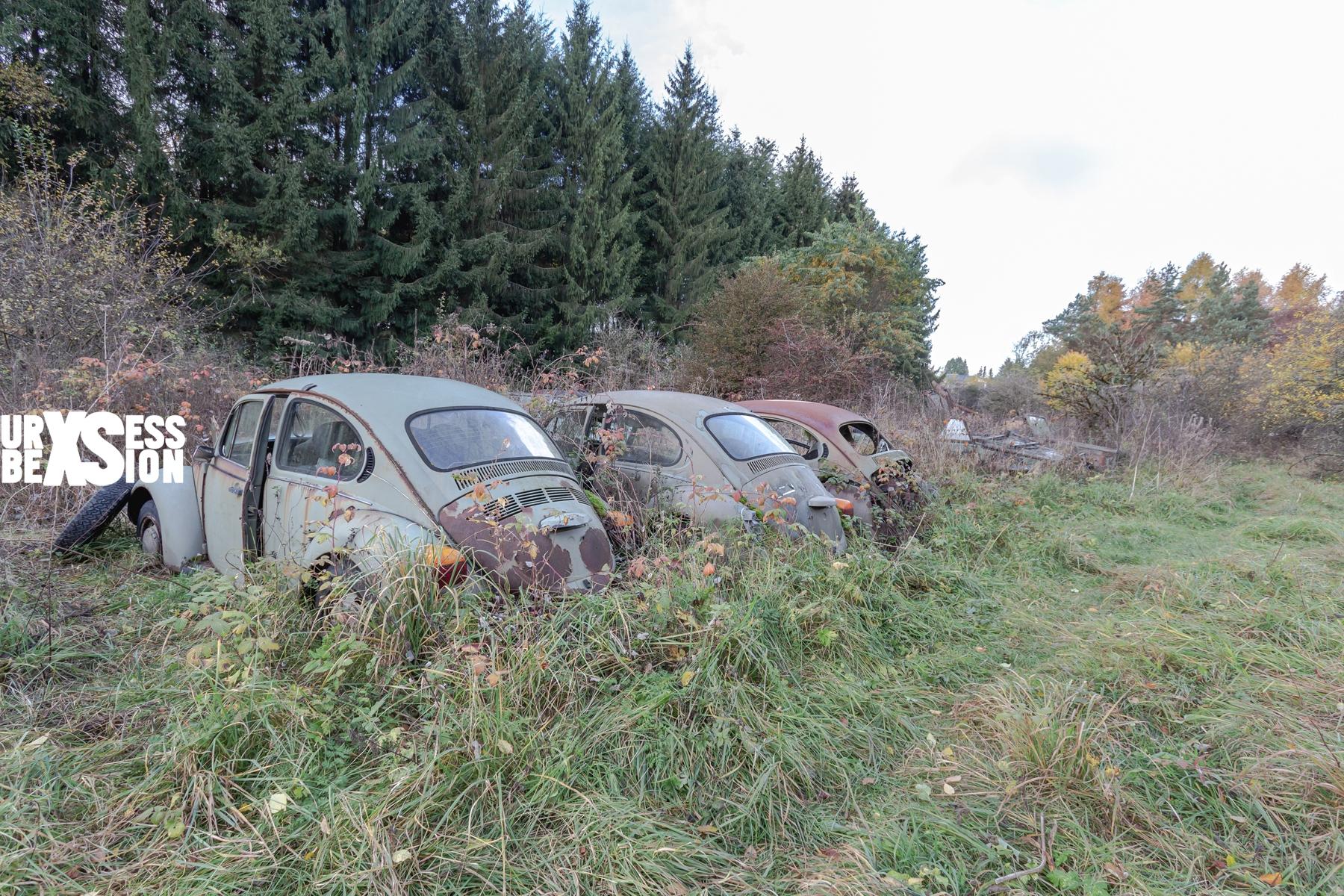 Cemetery of vehicles in Belgium : https://urbexsession.com/en/cemetery-of-vehicles-fritzl