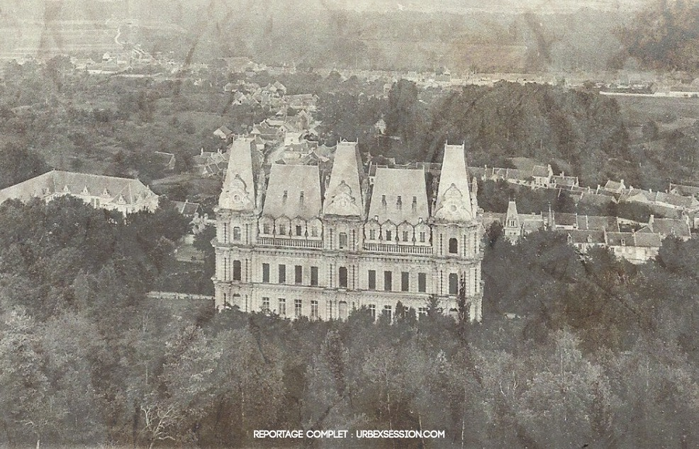 Chateau Mennechet | urbexsession.com/chateau-mennechet | Urbex France
