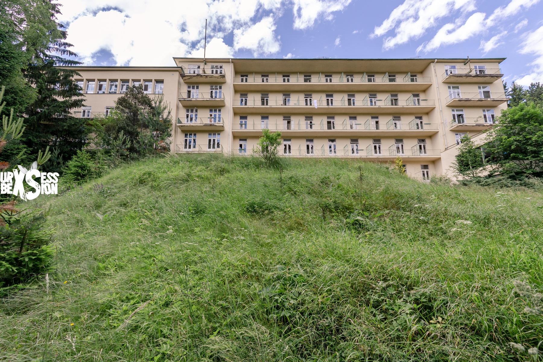 Wienerwald Sanatorium Abandoned Sanatorium In Austria