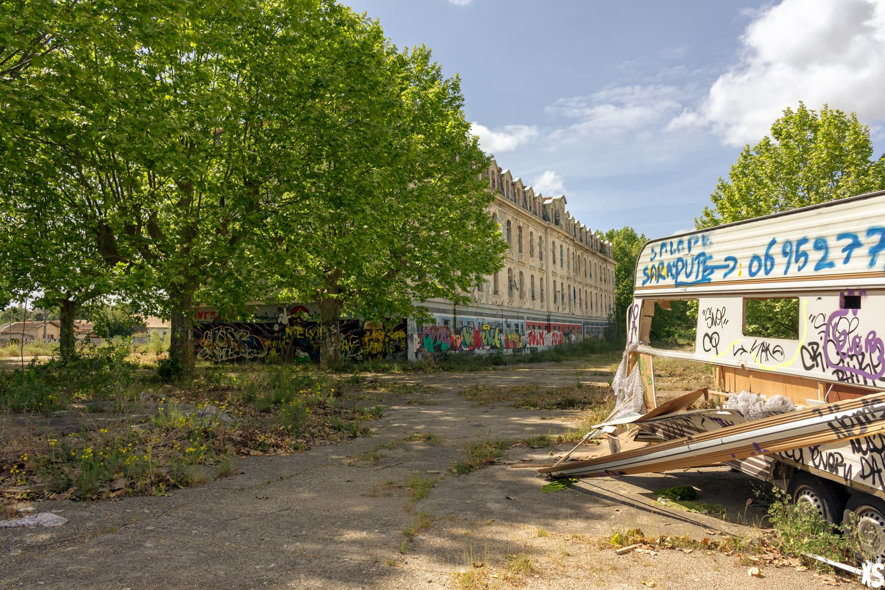 Caserne militaire abandonné situé à Bordeaux | urbexsession.com/caserne-niel-bordeaux | Urbex Bordeaux
