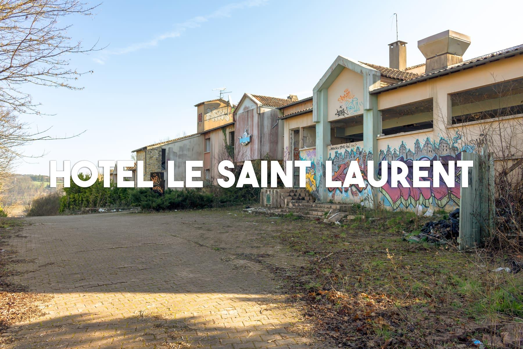 Hôtel abandonné situé à Boulazac Isle Manoire   urbexsession.com/hotel-le-saint-laurent-boulazac-isle-manoire   Urbex Dordogne