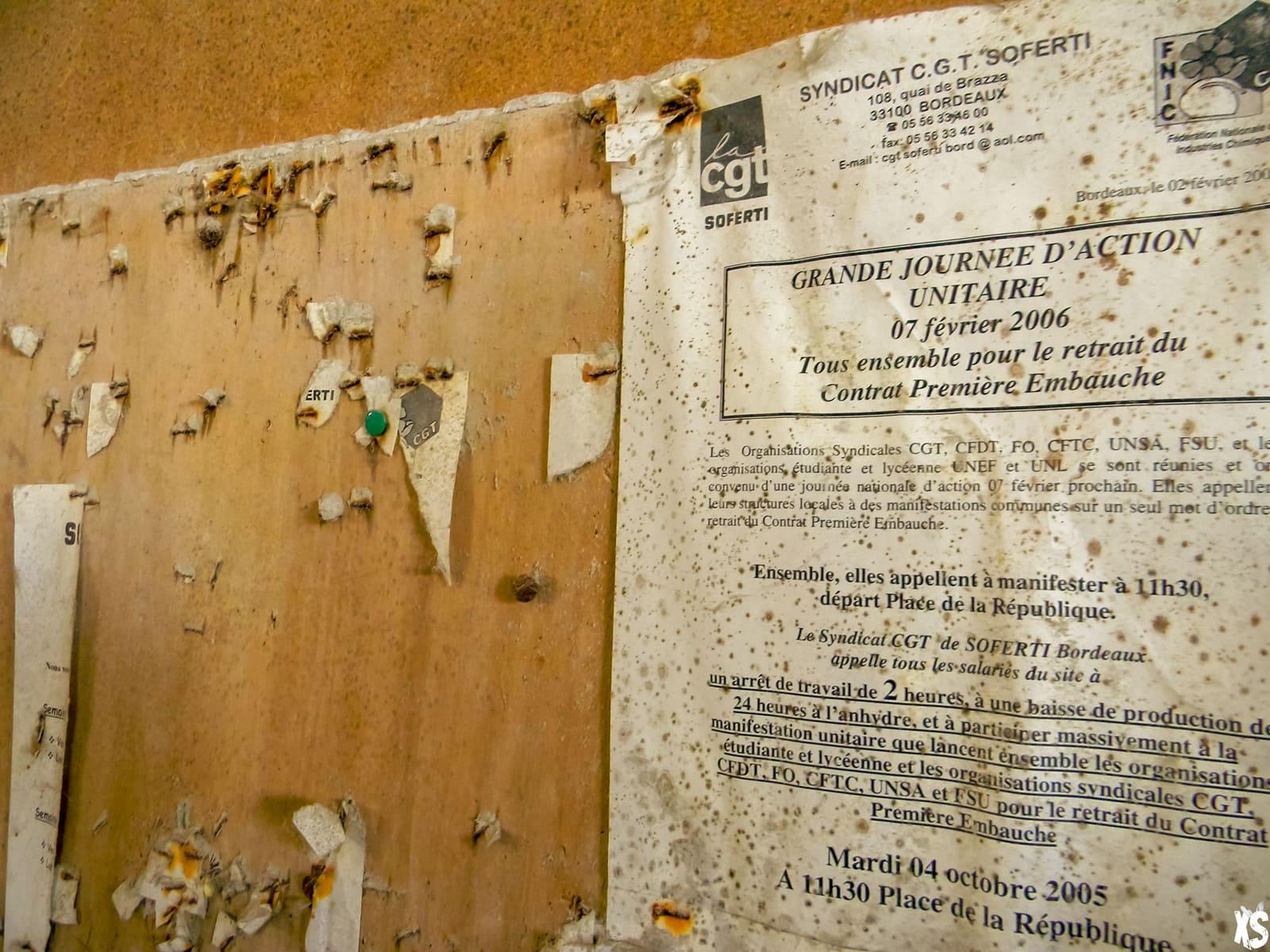 Usine Soferti située à Bordeaux | urbexsession.com/soferti-bordeaux | Urbex Bordeaux
